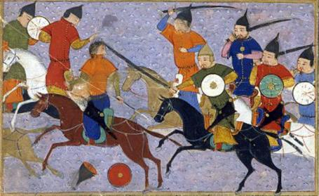 fight between chineses and mongols